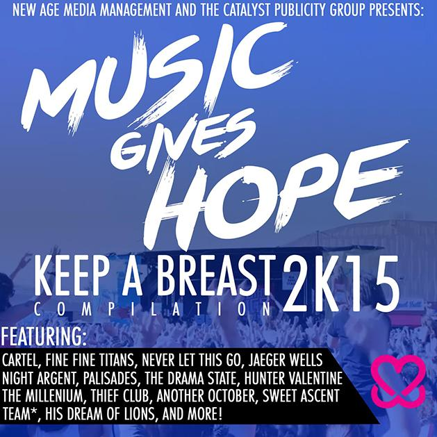Music For Hope Compilation benefiting Keep A Breast